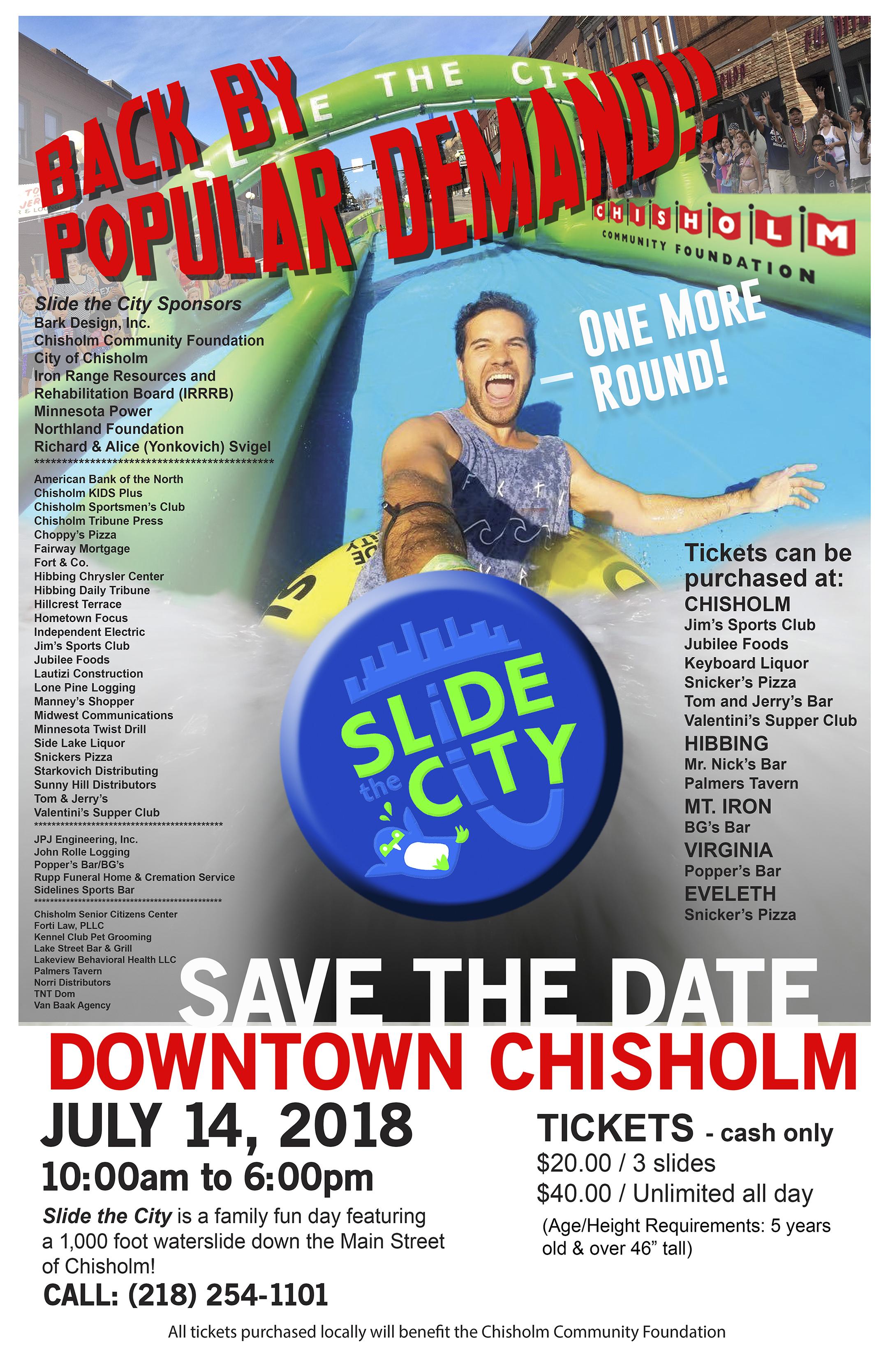 Chisholm Slide The City 2018
